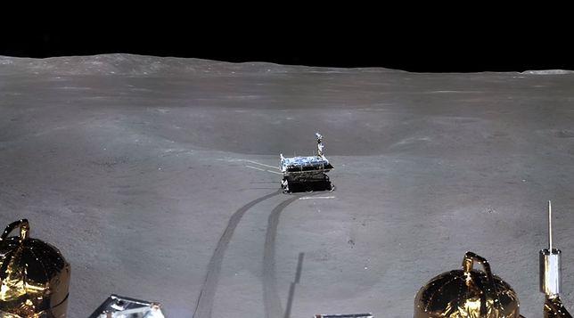 Sonda Chang'e 4 i łazik Yutu-2 badają Księżyc
