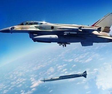 Izraelczycy przetestowali już pocisk wykorzystując F-16