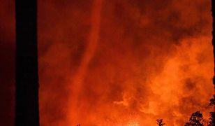 To nie jedyne tornado, jakie powstało przez erupcję wulkanu
