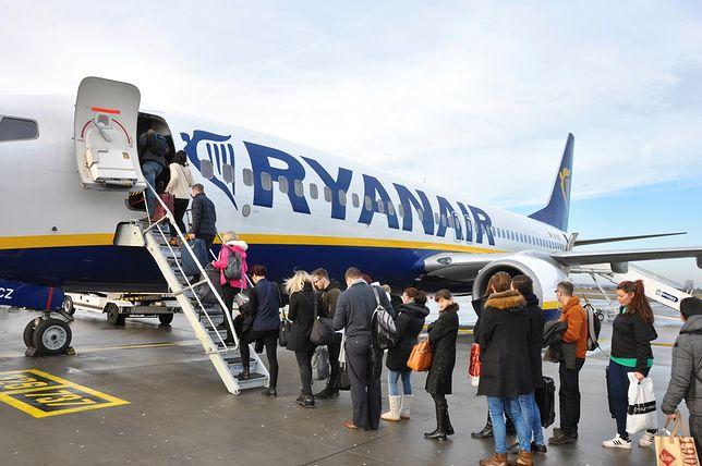 Pasażerowie lotu FR145 na długo zapamiętają tę podróż