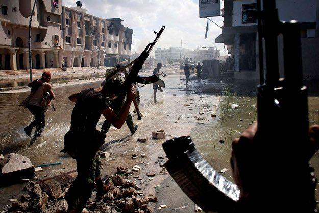 Walki w Syrcie w 2011 r.