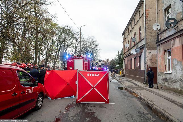 Inowrocław. W pożarze zginęły matka i trzy córki