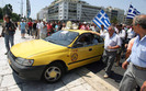 Greccy taksówkarze blokują kraj