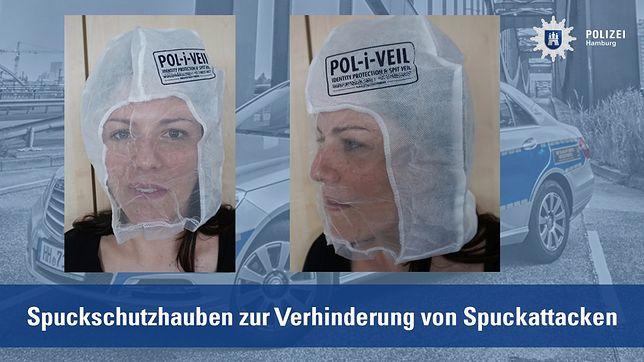 Niemiecka policja ma nowy sprzęt. Maski, które chronią przed... opluciem