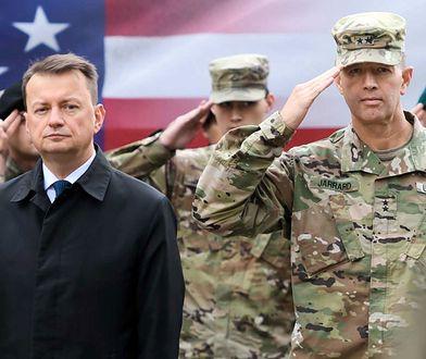 Wojska USA w Polsce. Szef MON po rozmowie z Pentagonem. Padła ważna deklaracja