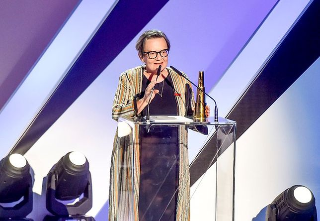 Agnieszka Holland odebrała nagrodę na 44. Festiwalu Polskich Filmów Fabularnych w Gdyni