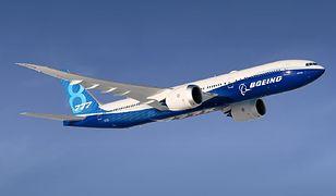 Boeing 777X. Przerwane testy z powodu awarii