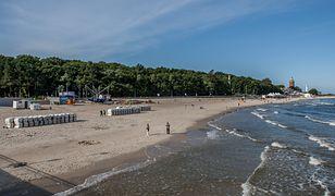Bomby znajdowały się przy samej plaży w Kołobrzegu