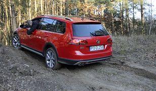 Górka Marcina: Volkswagen Golf Alltrack - test napędu na cztery koła