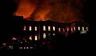 Pożar zbiegł się z 200 rocznicą powstania muzeum