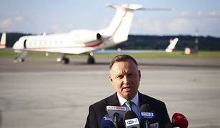 Przeloty Andrzeja Dudy. Jak prezydent ogranicza emisję CO2