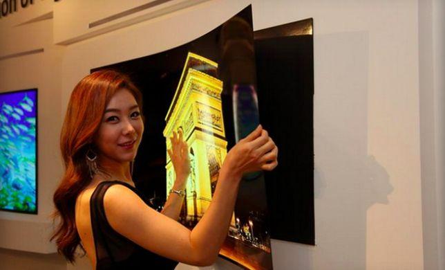 LG prezentuje elastyczny ekran o grubości 0,97 milimetra
