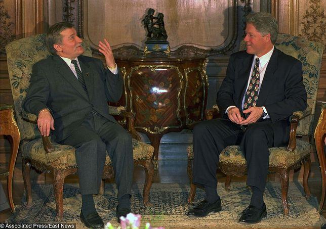 Spotkanie Wałęsa - Clinton w Pradze w 1994 roku. Czy polski prezydent poruszył kwestię broni jądrowej?