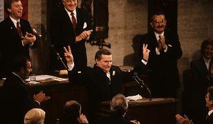 Wystąpienie Lecha Wałęsy w Kongresie w 1989 roku przeszło do historii. Tym razem odbędzie się w trochę skromniejszych warunkach