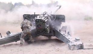 Ćwiczenia Dynamic Front-21 w Toruniu. Tak strzela ukraińska artyleria [WIDEO]