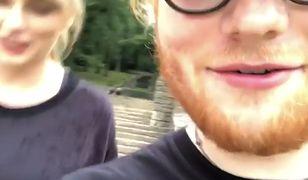 Taylor Swift żartuje ze zmęczonego Eda Sheerana. ''Robiłeś kiedyś kardio?''