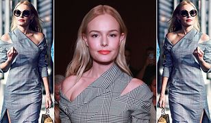 LOOK OF THE DAY: Kate Bosworth w kraciastym zestawie Monse