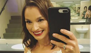 Anna Starmach na balu TVN