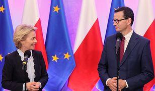 Ursula von der Leyen spotkała się w Warszawie z Mateuszem Morawieckim