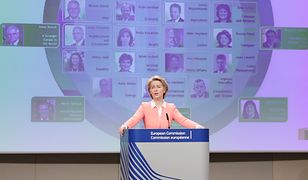 Ursula von der Leyen zaprezentowała skład nowej Komisji Europejskiej