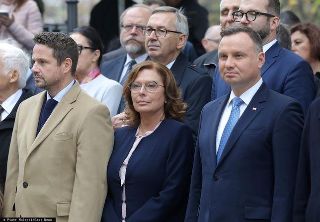 Małgorzata Kidawa-Błońska i Andrzej Duda, kandydaci w wyborach prezydenckich.