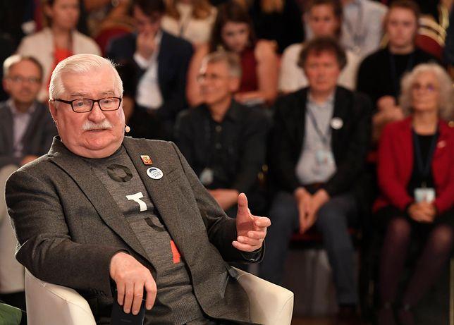 Lech Wałęsa gości od kilku dni w USA