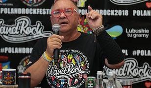 Jerzy Owsiak obawia się, że policjanci na Pol'and'Rock będą korzystać z gazu łzawiącego