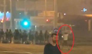 Białoruś: W sieci pojawiło się nagranie pokazujące śmierć demonstranta