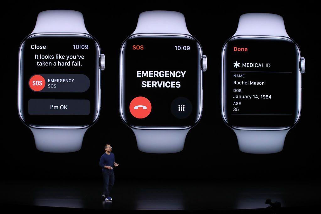 Apple Watch sam wzywa policję. Kłopoty z inteligentnym zegarkiem - Apple Watch SOS