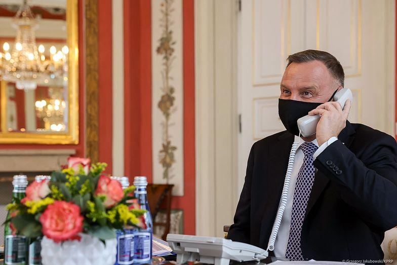 Duda rozmawiał z królem przez telefon. Internauci padli ze śmiechu