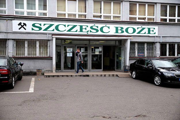 Wejście do kopalni Wujek-Ruch Śląsk w Rudzie Śląskiej