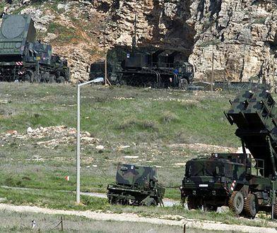 Niemiecki system przeciwlotniczy Patriot w Turcji
