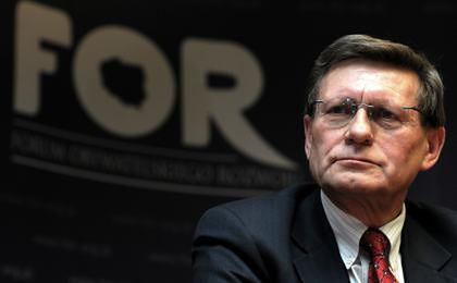 Balcerowicz: Tylko obywatele mogą usunąć patologię z Polski