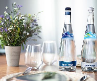 NOWOŚĆ: Żywiec Zdrój w szklanych butelkach Arcydzieło natury zamknięte w przepięknej oprawie
