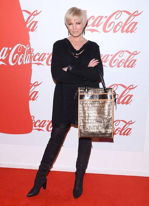Ilona Felicjańska na imprezie Coca-Coli