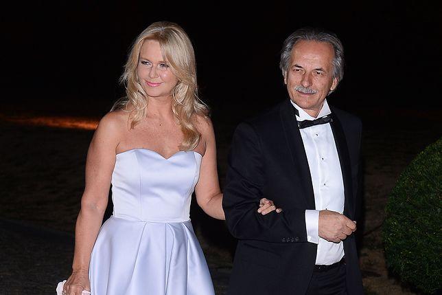 Grażyna Torbicka z mężem Adamem Torbickim