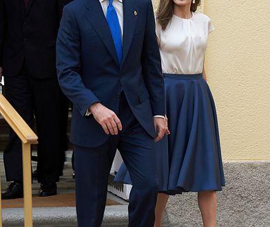 """Królowa Letycja na spotkaniu z członkami fundacji """"Princesa De Asturias"""""""