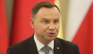 """Andrzej Duda o zmianie ordynacji do europarlamentu. """"Mocno skłaniam się do weta"""""""