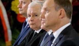 """Zapowiedź weta ws. zmian w ordynacji do PE. Kaczyński """"obraził się"""" na Dudę"""