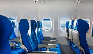 Tradycyjny układ siedzeń w samolocie może się zmienić