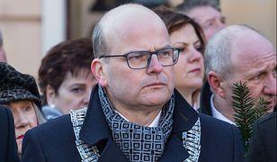 Pijany mężczyzna wtargnął z siekierą do sekretariatu prezydenta Grudziądza