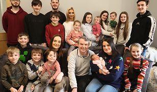 Najliczniejsza rodzina w Wielkiej Brytanii ma 22 dzieci.
