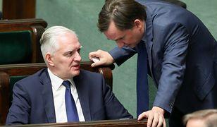 Wybory parlamentarne. Jarosław Gowin i Zbigniew Ziobro rozpoczęli walkę o wpływy