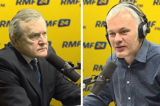 Minister Piotr Gliński i Rober Mazurek