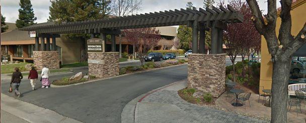 Pierwsza siedziba Apple Computer Co. Zaplecze restauracji przy 20863 Stevens Creek Blvd w Cupertino.