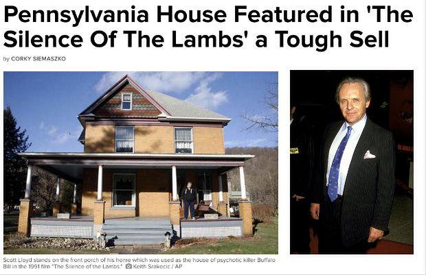 Sprzedano dom, w którym mieszkał słynny Hannibal Lecter. Cena? Nie taka wysoka!