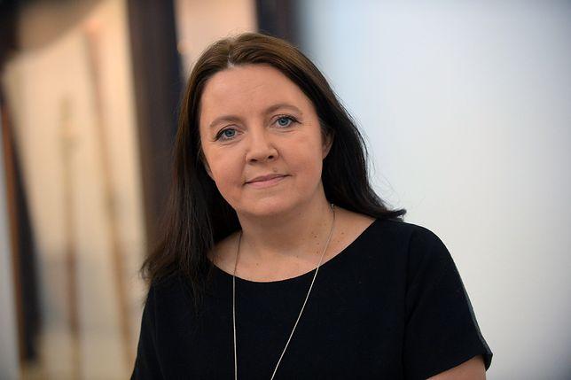 Joanna Lichocka (na zdjęciu) wyjaśnia powód usunięcia wpisu z 2014 roku.