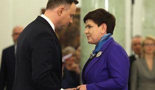 Nowa partia? Spotkanie Beaty Szydło i Andrzeja Dudy