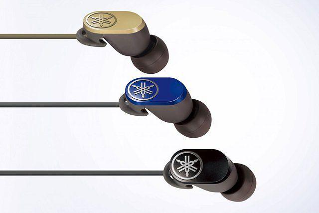 Trzy nowe modele słuchawek dousznych Bluetooth od Yamahy
