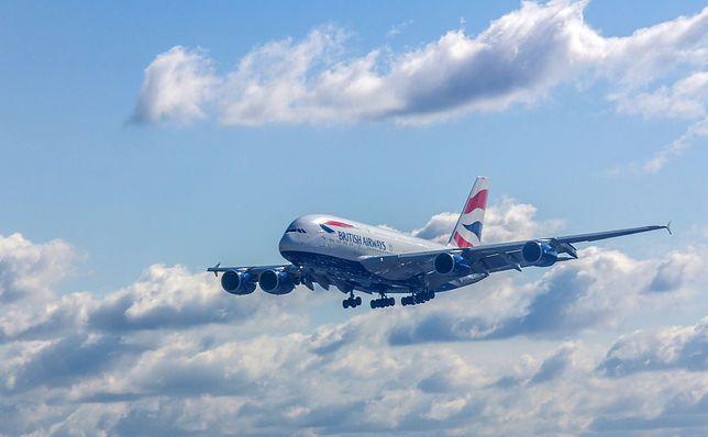 Linie British Airways zawieszają loty do Chin
